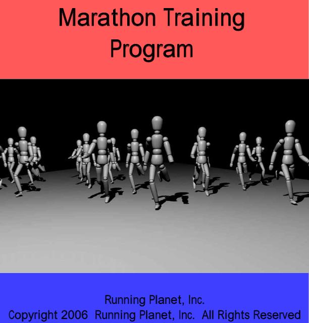 Two Hour Fifty Minute Marathon Training Plan