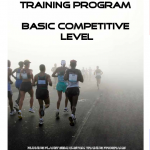 Three Hour Marathon Training Plan – Basic Level