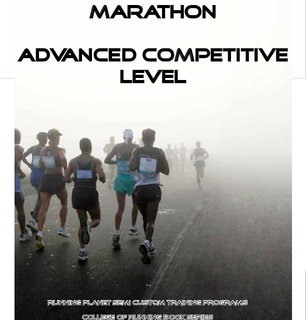 Three Hour Ten Minute Marathon Training – Advanced