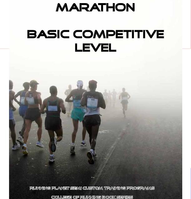 Three Hour Ten Minute Marathon Training – Basic Level