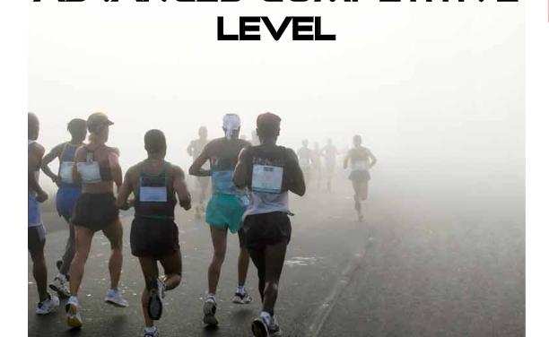 Four Hour Marathon Advanced Level