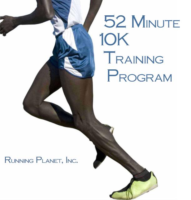 52 Minute 10K Training Plan