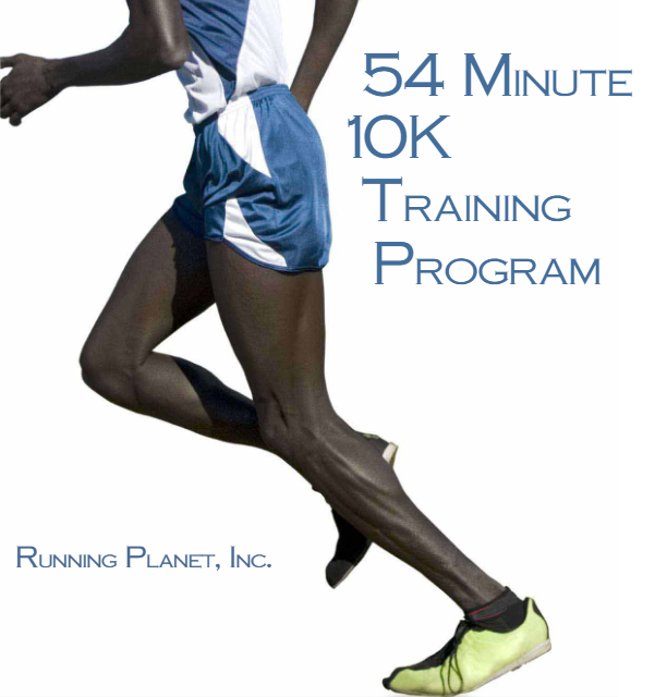 54 Minute 10K Training Plan