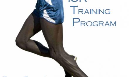 58 Minute 10K Training Plan