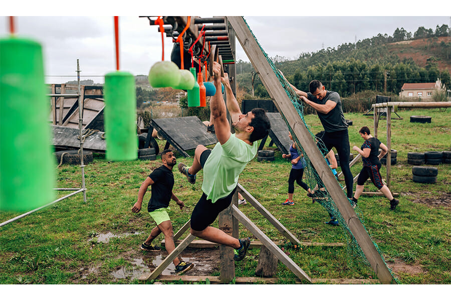 2 to 5 Mile Challenger Obstacle Course Training