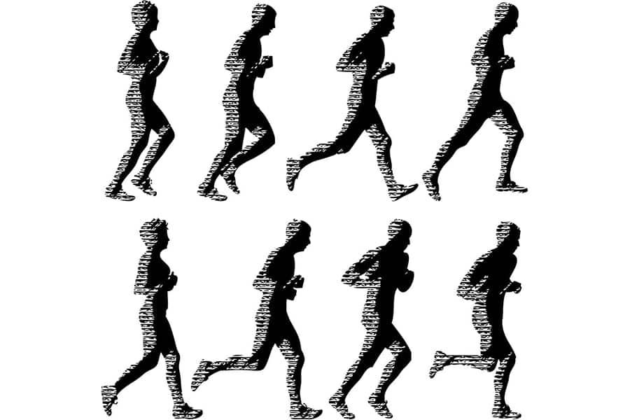 Efficient Running Form