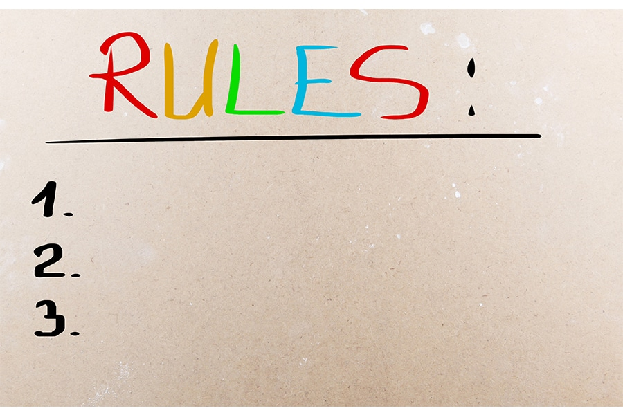 The Twelve Rules of Training